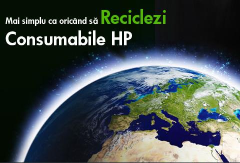 Recicleaza cu HP si Medianet