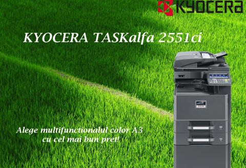 Promo Kyocera TASKalfa 2551ci, A3